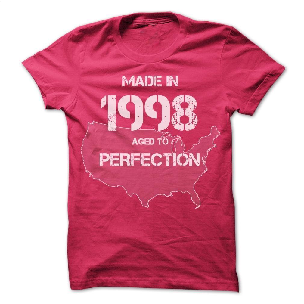 USA Made In 1998 Tshirts T Shirt, Hoodie, Sweatshirts - custom tshirts #teeshirt #hoodie