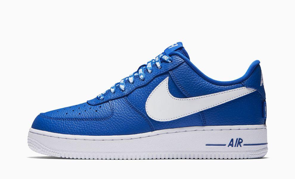 Цветные Nike AF 1 Low NBA ко дню рождения легенды
