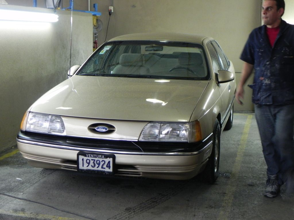 1986 Ford Taurus Lx Restoration Photo 1986 Ford Taurus Lx
