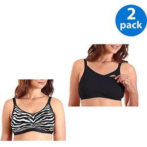 0dfd24630 Bestform Maternity Comfort Softcup Nursing Bra 2-Pack Value Bundle ...