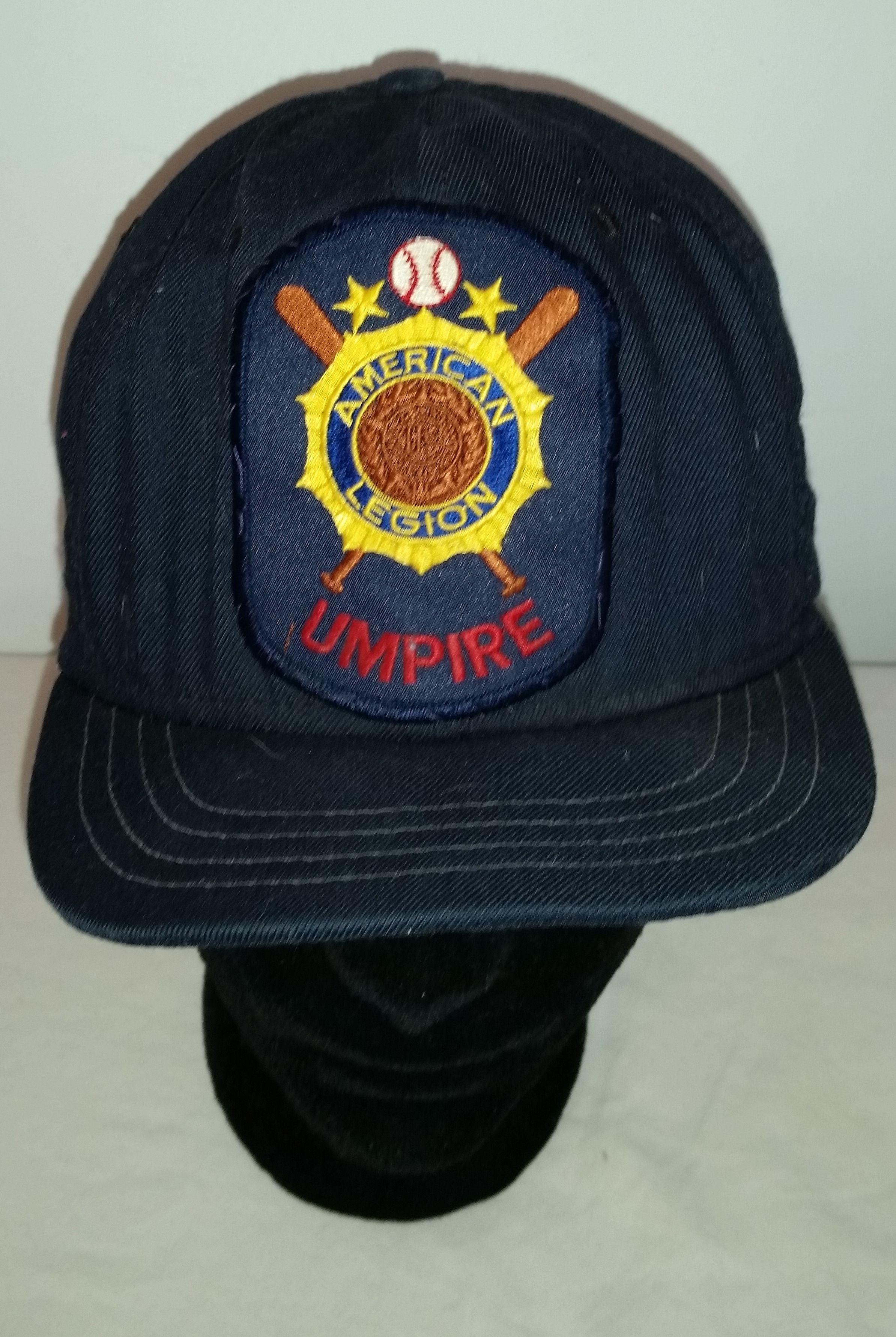 Vintage 70s Ds New Era Pro Model Umpire Short Brim Baseball Hat 7 3 8 Baseball Hats Vintage 70s New Era