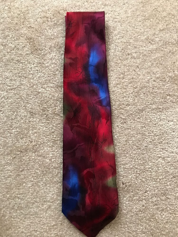 J Garcia Tie Banyan Trees Collection 34 Limited Edition 455 Of