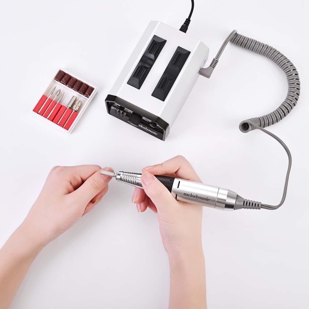 Silver/White Color Nail drill, Best nail drill, Fun nails