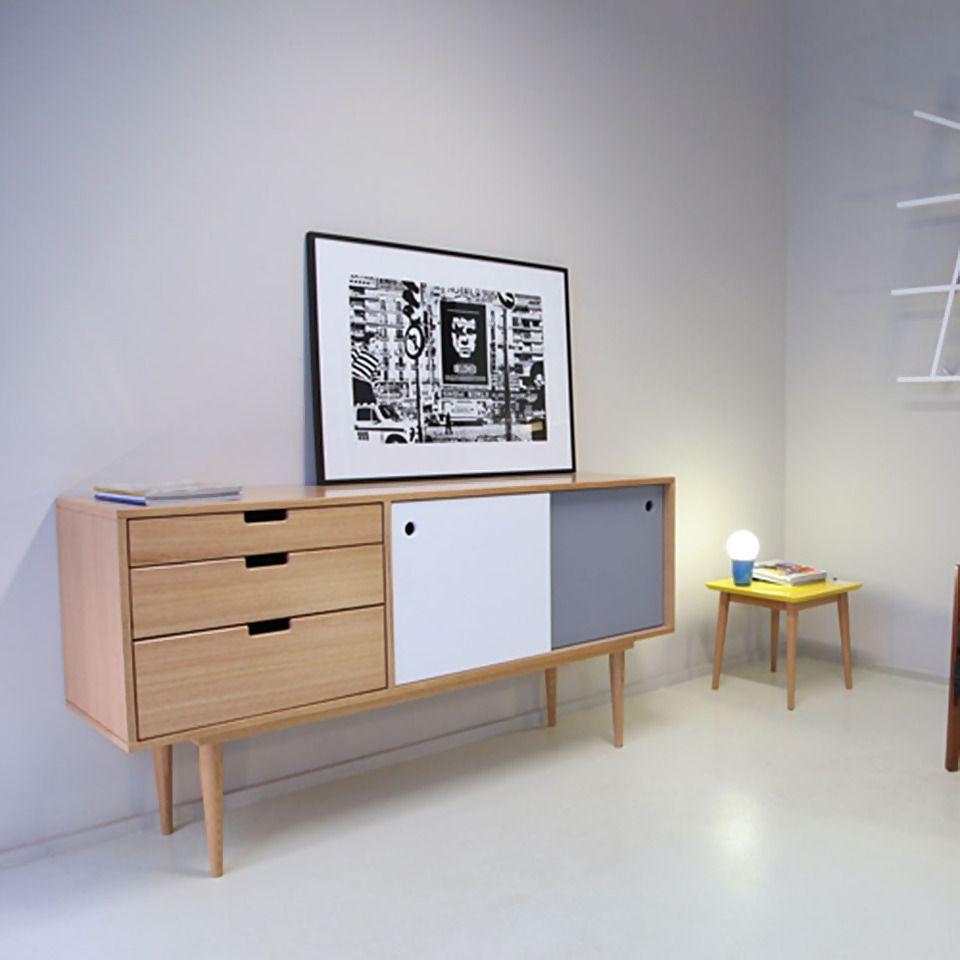 Beautiful Buffet Design Scandinave Images Joshkrajcik Us  # Bahut Scandinave