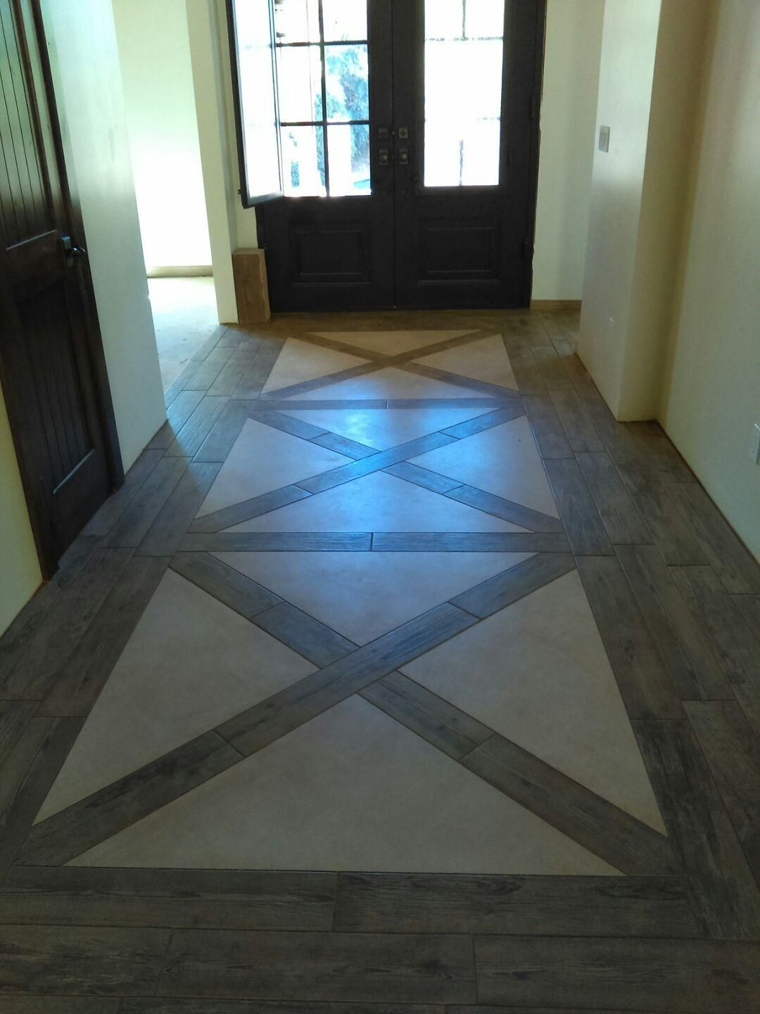 One of my favorite entry ways that we helped design this month here one of my favorite entry ways that we helped design this month here at empire tile wood look tile floorwood like dailygadgetfo Image collections