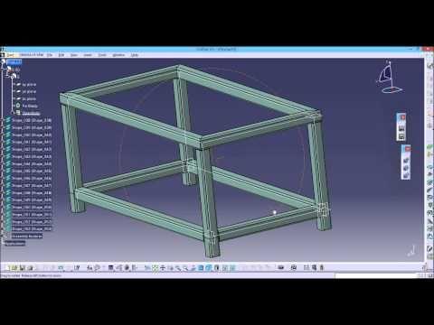 Catia V5 Structure Design Structure Design Design Structures