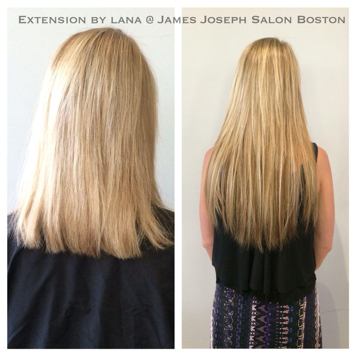 Bonded Extensions By Lana James Joseph Salon Newbury St Boston