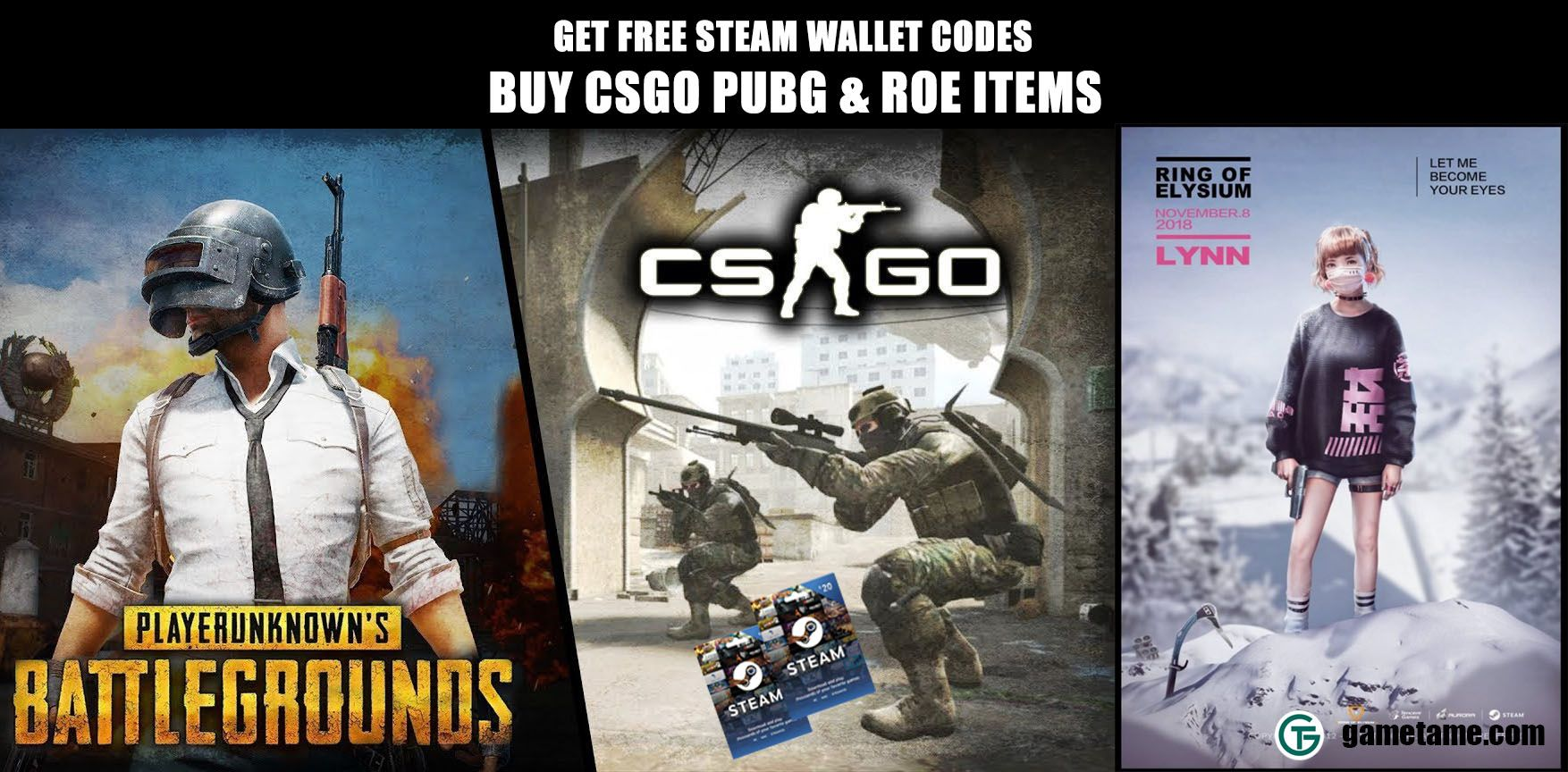 Earn Free Steam Wallet Code And Buy Steam Games You Want