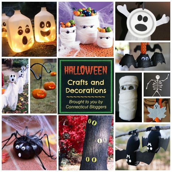 Easy Halloween Crafts and Decorating Ideas Daisy\u0027s Pinterest - halloween crafts decorations