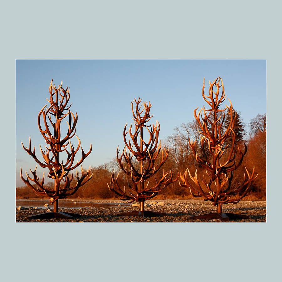 Christmas Tree Made Of Deer Antlers: Deer Antler Christmas Tree By Emilyhannah Ltd