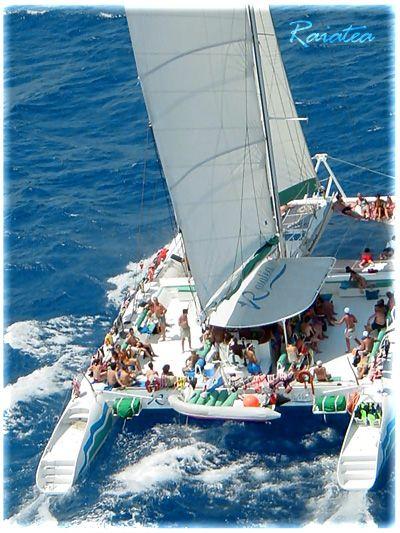 Catamaran To Tulum Tulum Catamaran Blue Magic Raiatea Is