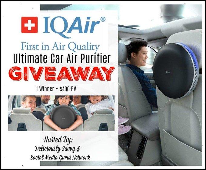 (10) IQAir (IQAir) / Twitter Air purifier, Car air
