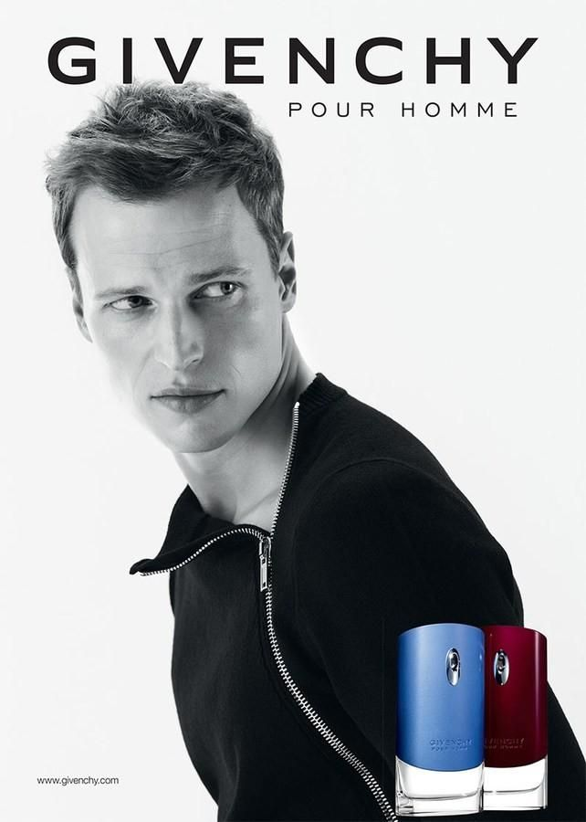 Givenchy Pour Homme Fragrance Campaign Featuring Lars Burmeister Fragrance Campaign Fragrance Ad Perfume Adverts
