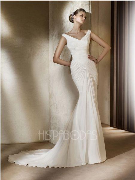 modelo abaco. coleccion vestidos de novia pronovias 2011.   vestidos