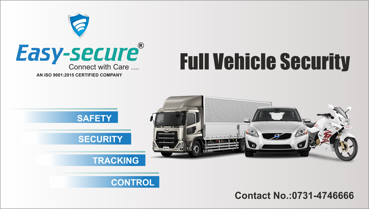 EASYSECURE provides real time GPS_tracking of vehicles