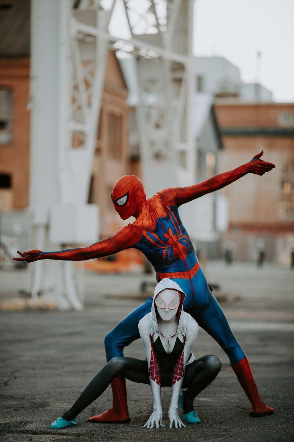 MARVEL : Spider Man   Spider gwen cosplay, Superhero ...