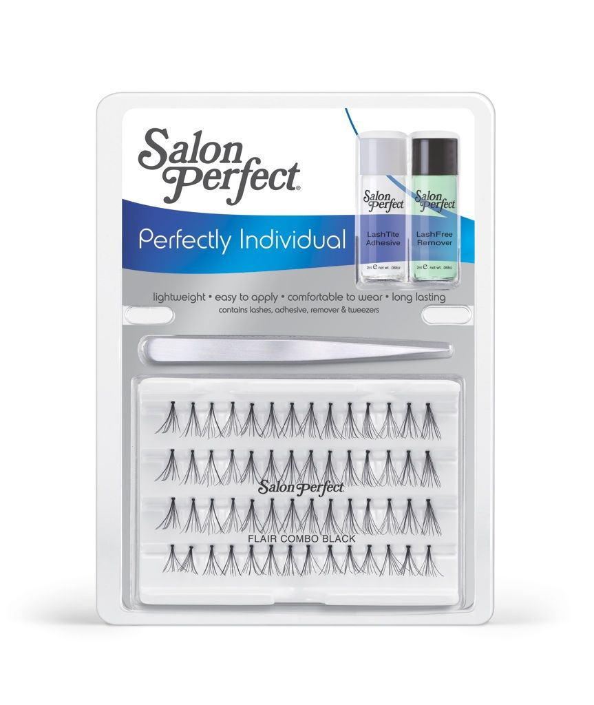 Salon Perfect - Perfectly Natural - Starter Kit Individual Lashes ...