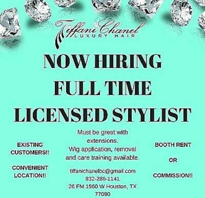 Full Time Licensed Stylists Needed Salon Advertising Ideas Stylists Salon Jobs