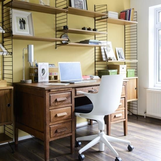 Awe Inspiring Take A Tour Of This 1960S House In Yorkshire Office Interior Design Ideas Grebswwsoteloinfo