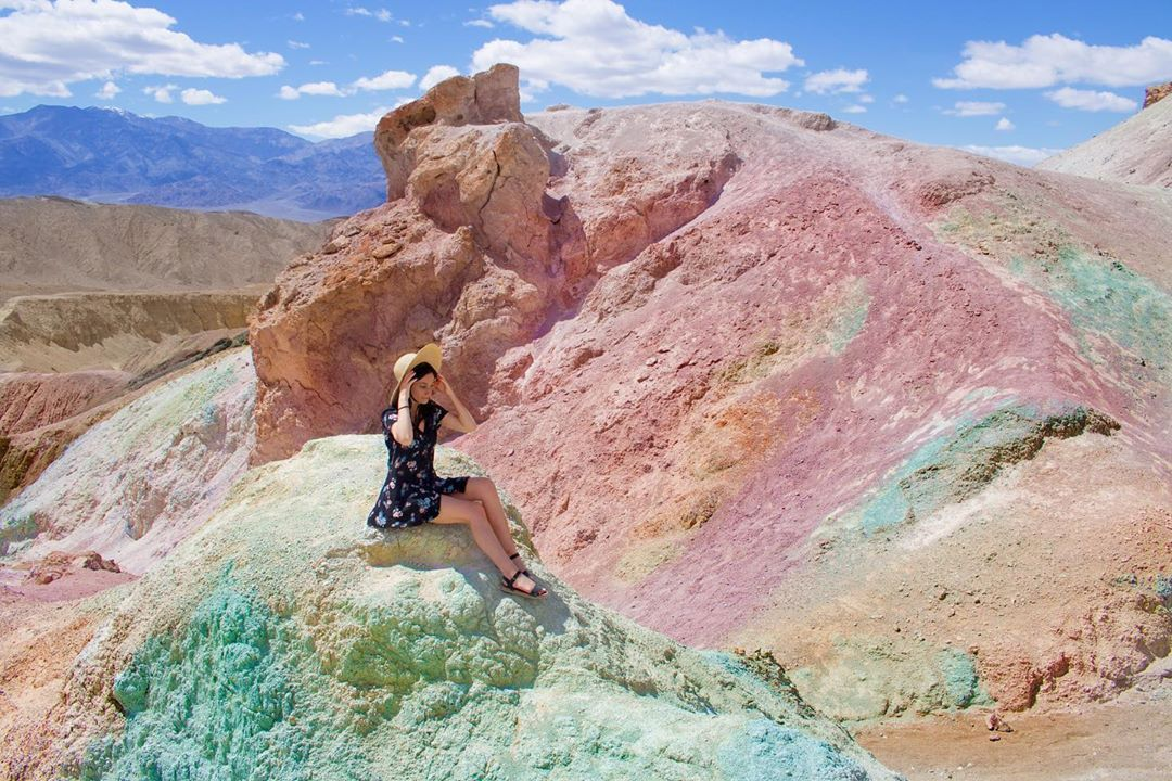 You Can Drive Through 9 Miles Of RainbowColored Mountains