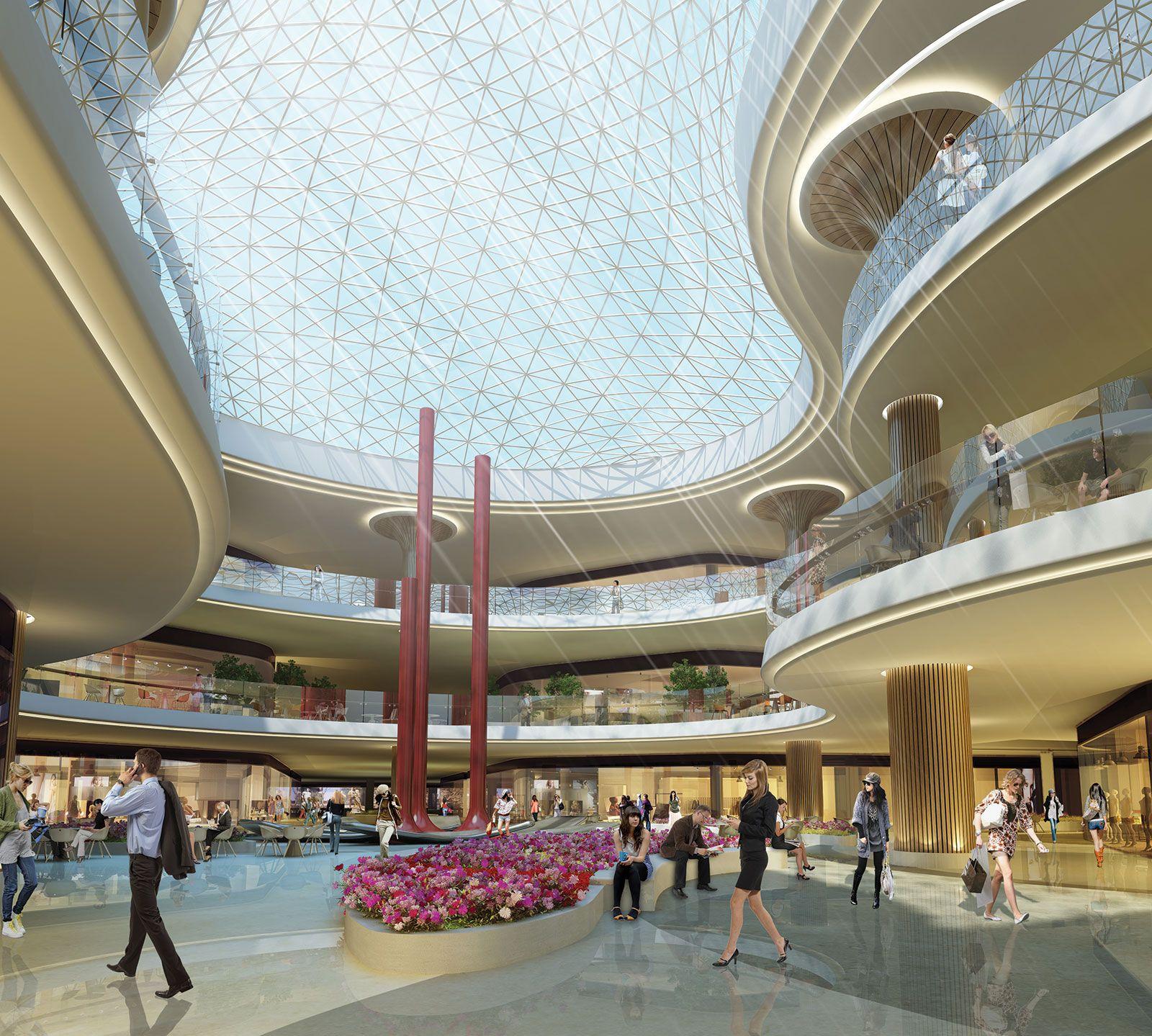 Interior Design Shopping: M & M Architecture (Markets & Malls