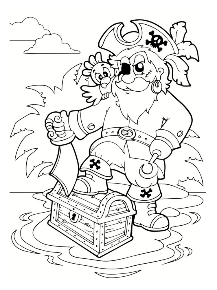 Coloriage pirate 25 dessins imprimer cr ation pirate coloring pages pirate activities - Coloriage fille pirate ...