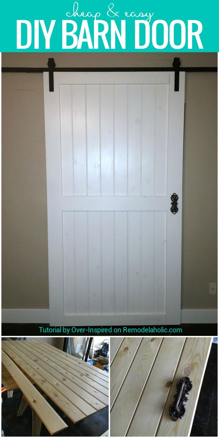 Build This Cheap And Easy Diy Barn Door For Around 80 Plus Tips For Finding Budget Friendly Rolling Door Hardware
