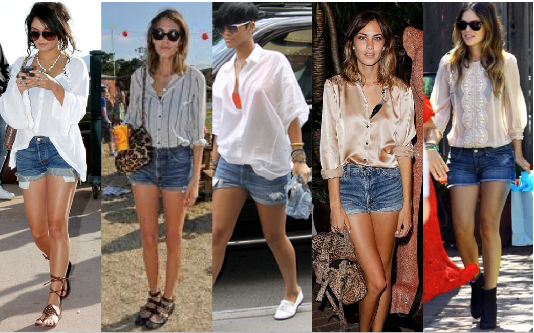 What To Wear With Jean Shorts - The Else