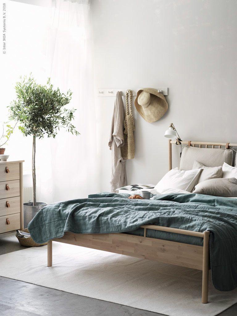 Helt Naturligt Med Bjorksnas Ikea Sverige Livet Hemma Simple Bedroom Decor Bedroom Decor On A Budget Home Decor Bedroom