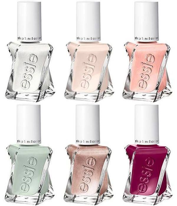 essie 2017 gel couture bridal collection