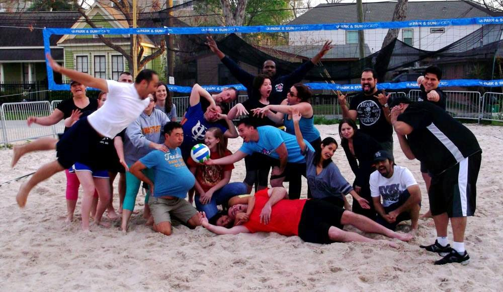 Just For Fun Outdoor Volleyball houstonsingles singles