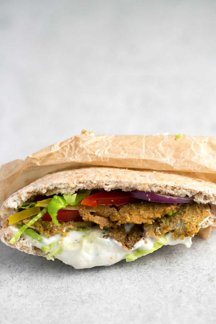 Low Fat Vegan Kebab