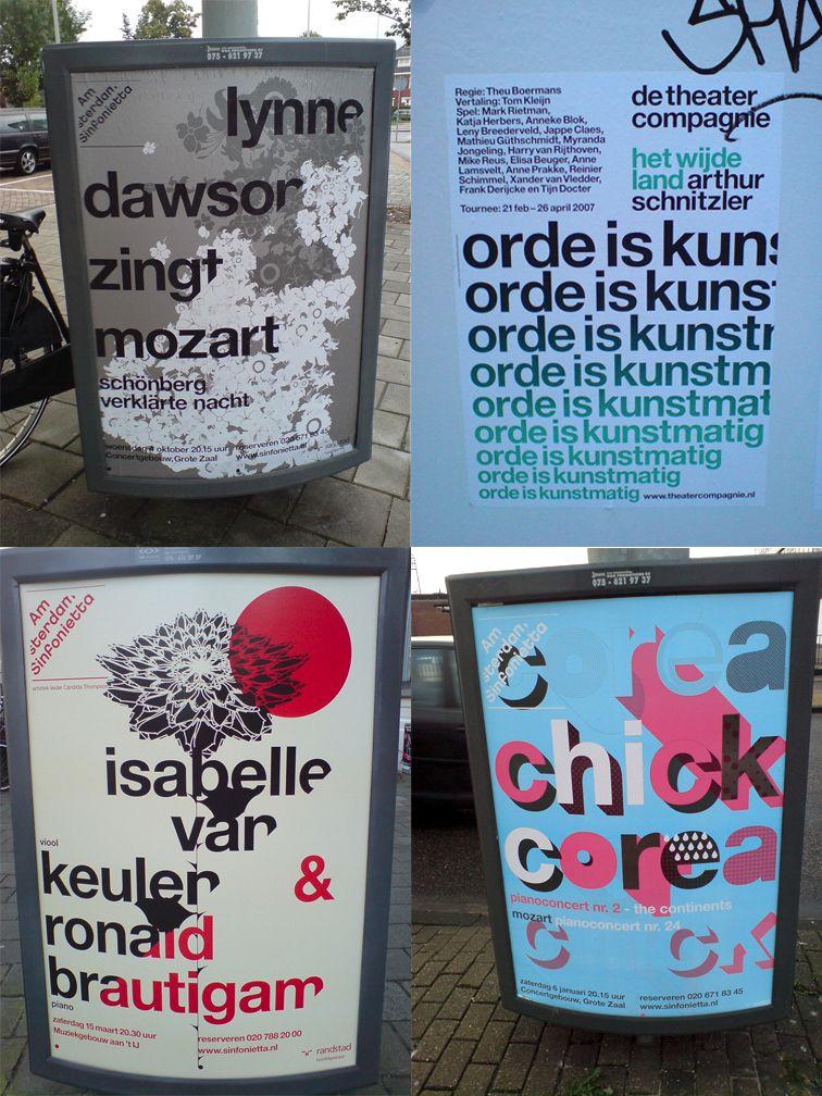Posters in Amsterdam // Jarr Geerligs