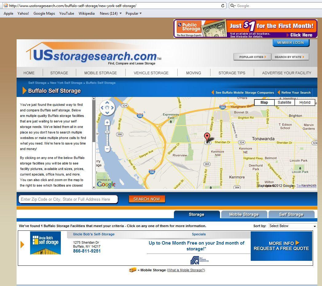 Buffalo Self Storage  NY Storage Http://www.usstoragesearch.com/