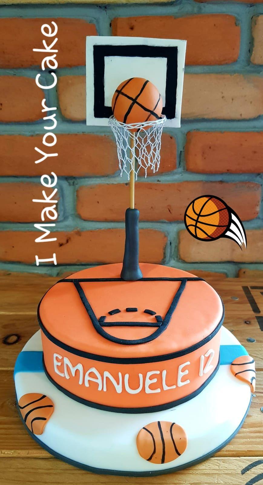 cake design basketball Basket  Geburtstagskuchen ideen, Kuchen, Geburtstagskuchen