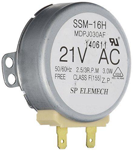 Frigidaire 5304408980 Microwave Turntable Motor Frigidaire Turntable Microwave Parts