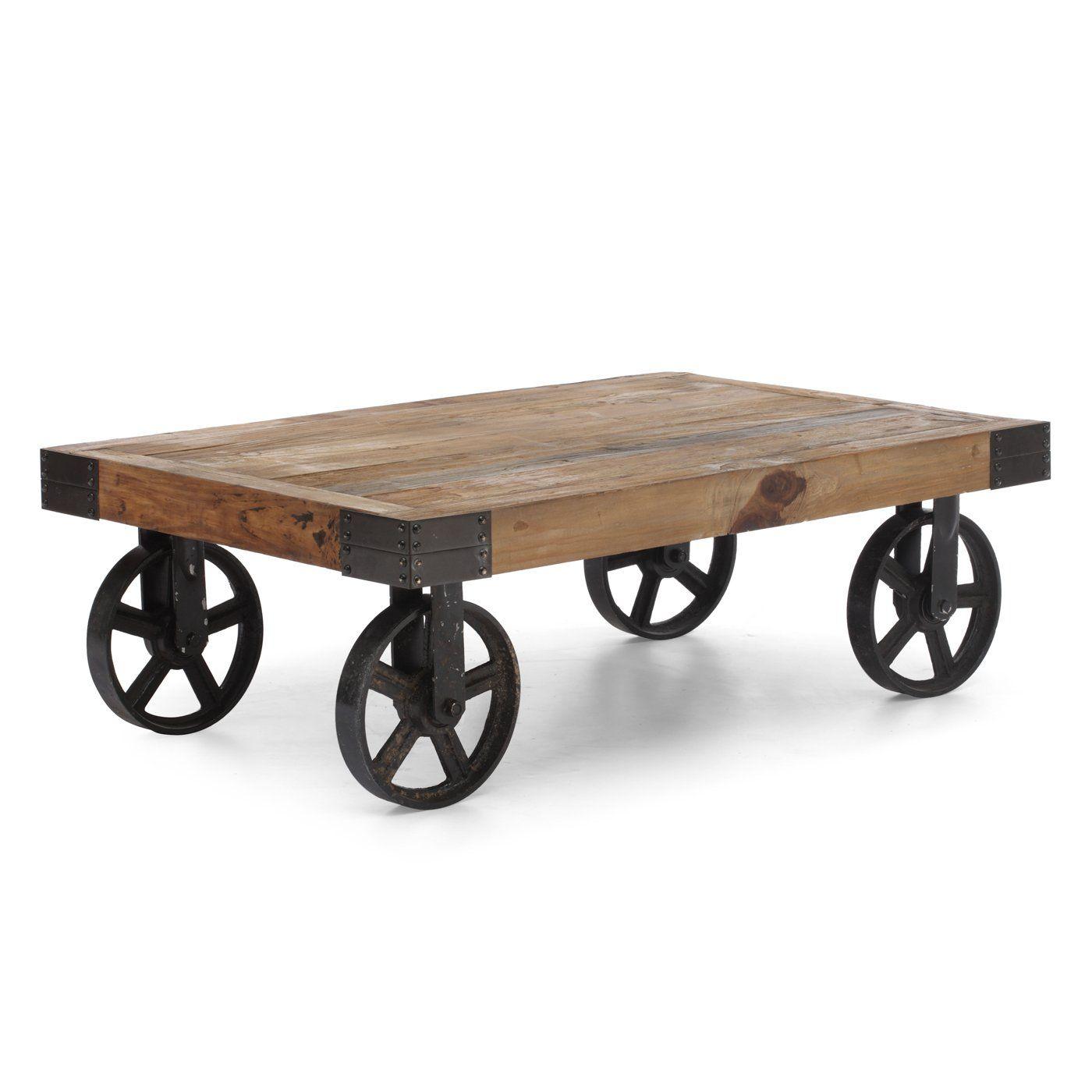 Zuo Modern 98130 Barbary Coast Cart Table | Lowe's Canada
