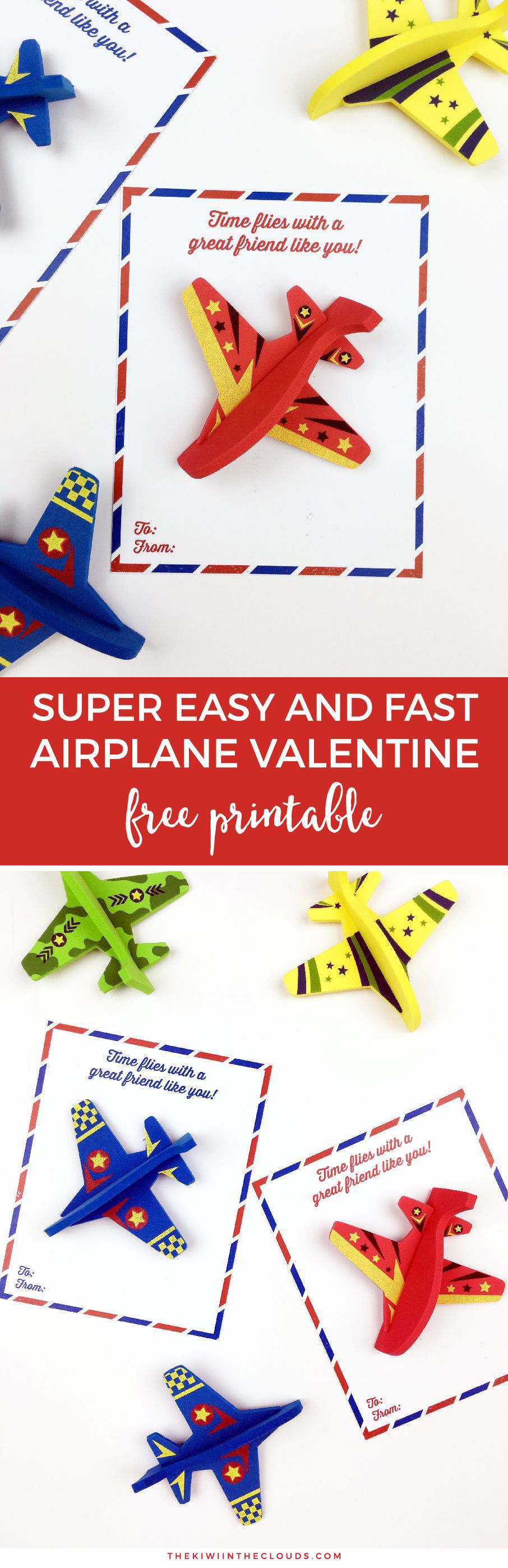 Candy Free DIY Valentines | free printables | boys valentines