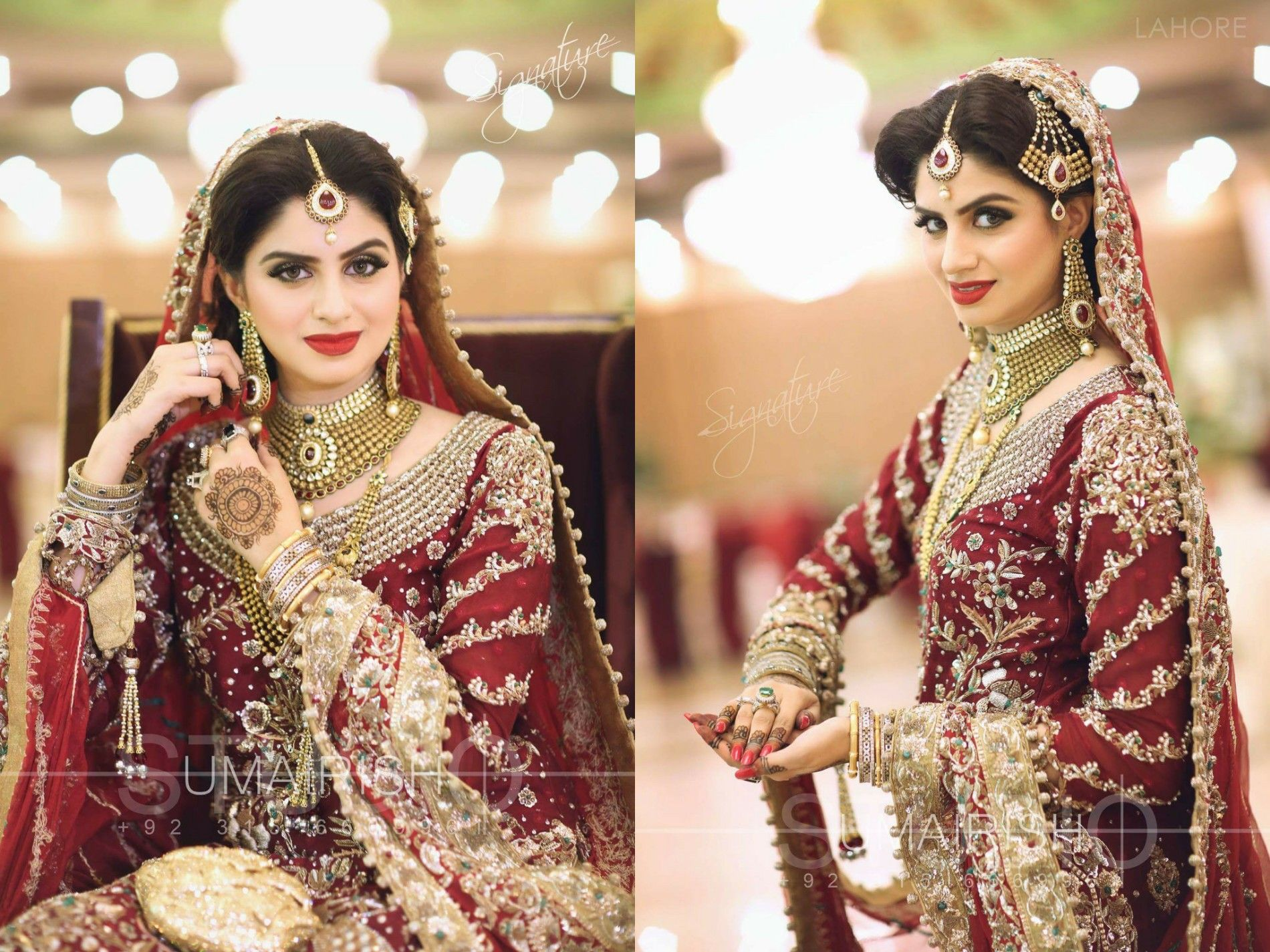 Blooming Red Rose In A Royal Style Photography By Umairish Studio Pakistani Bridal Bridal Wear Bridal Couture