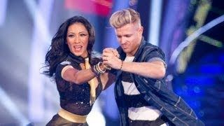 Nicky Byrne Karen Hauer Jive To Jailhouse Rock Strictly Come Dancing 2012 Week 7 Bbc One Strictly Come Dancing Nicky Byrne Bbc One