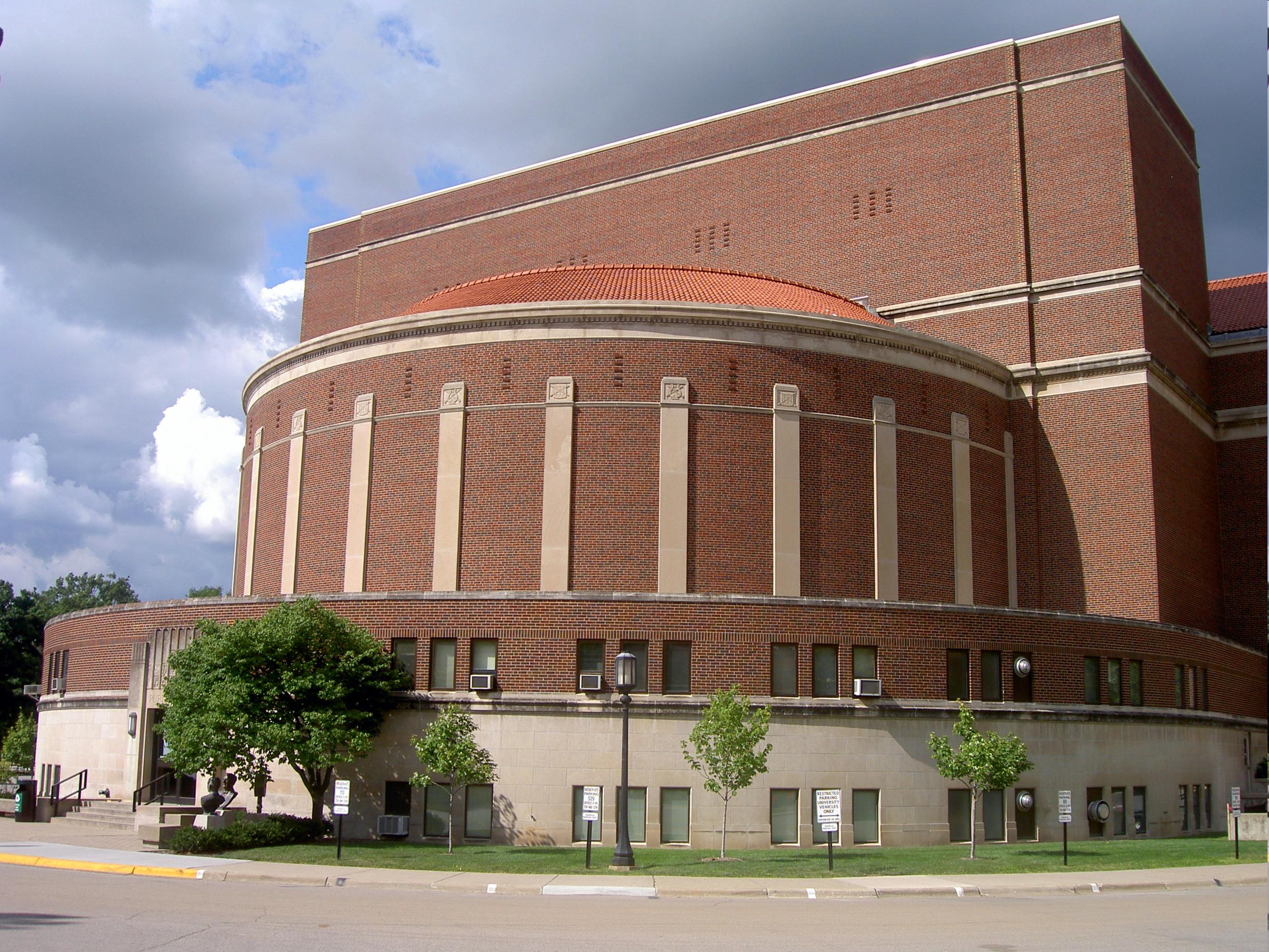 Elliot Hall Of Music West Lafayette Indiana Purdue University Purdue Campus