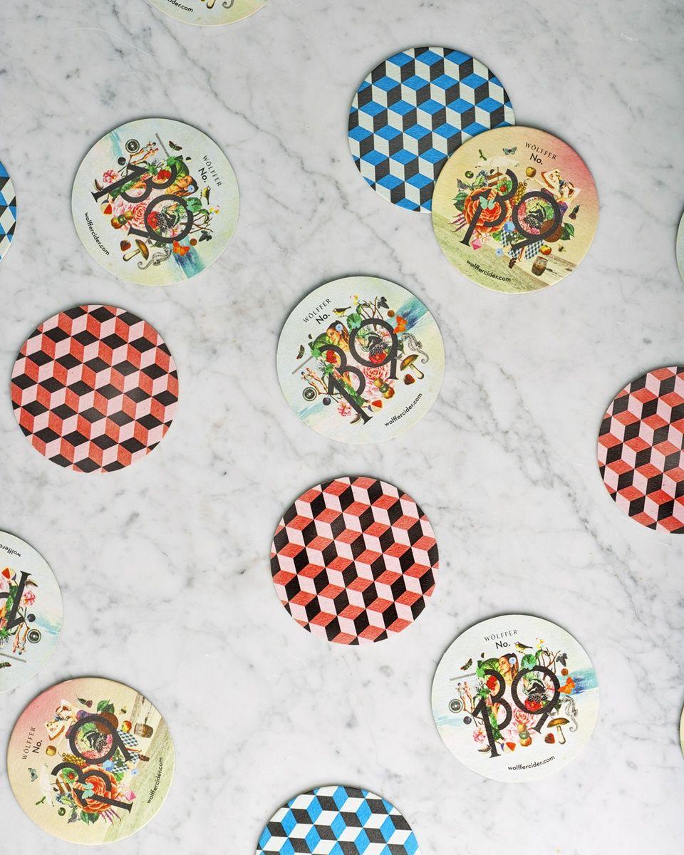wolffer 139 cider coasters