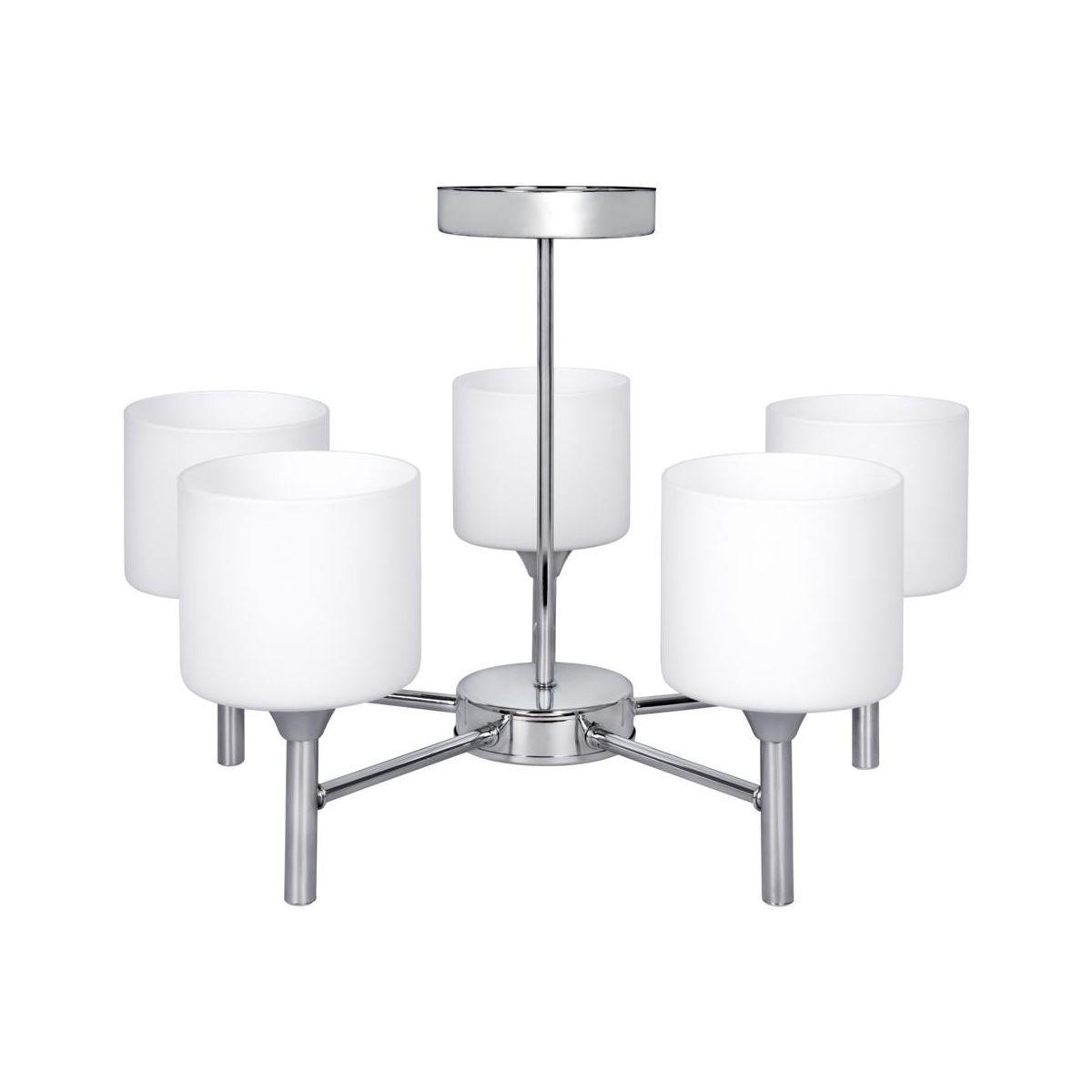 Zyrandol Mira Srebrny E27 Activejet Zyrandole Lampy Wiszace I Sufitowe W Atrakcyjnej Cenie W Sklepach Leroy Merlin Ceiling Lamp Lamp Ceiling Lamp Silver