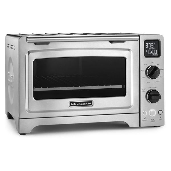 Kitchenaid Kco273ss Stainless Steel 12 Inch Digital Convection Countertop Oven Kitchenaid Toaster Oven Countertop Oven Convection Toaster Oven