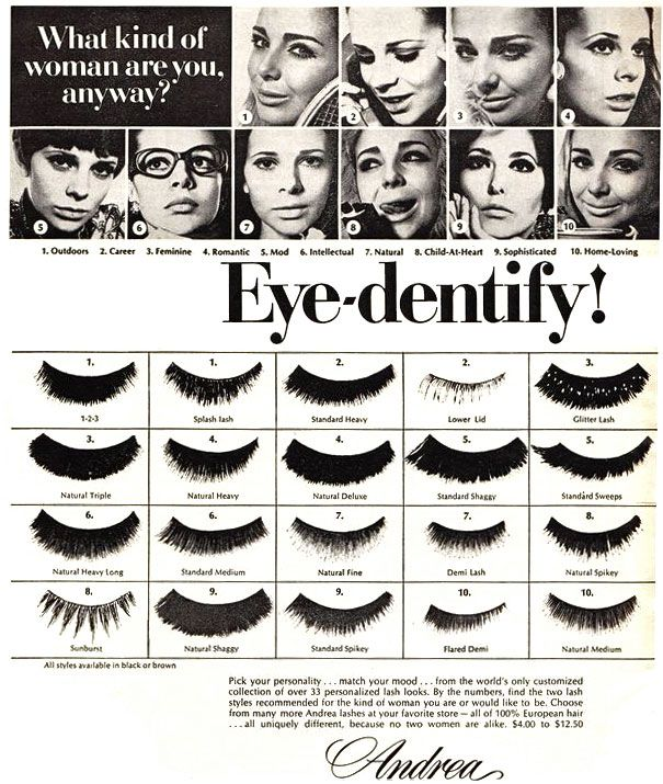 What Kind Of Woman Are You Anyway Eye Dentify Yourself Eyelashes