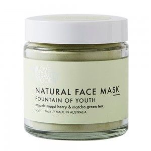 Photo of Love Beauty Foods Clay Face Mask 50g – Fountain of Youth – Biome