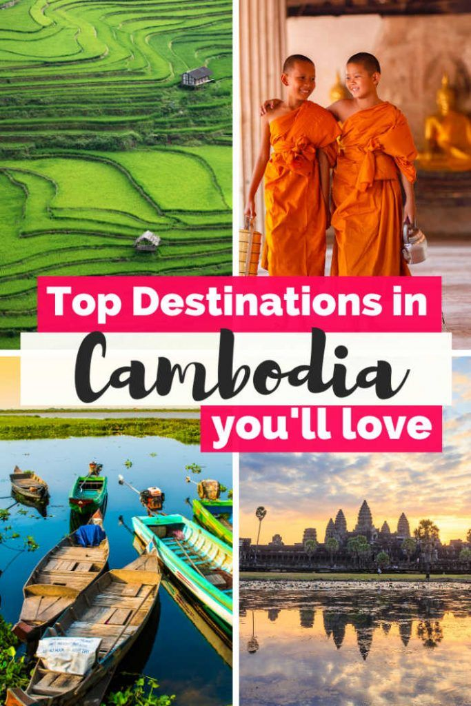 Discover the the best places to visit in Cambodia from the temples of Angkor, to the pristine beaches of Koh Rong, to the popular Siem Reap or Phnom Penh, in my Cambodia Travel Guide with the best things to do in Cambodia.   Cambodia photography people I Cambodia islands I Angkor ruins I Siem Reap Cambodia I Southeast Asia Travel I Cambiodian beaches I Camboya I Cambodia itinerary I Cambodia on a Budget  #Cambodia #Asiatravel #CambodiaTravel #cambodianfood #southeastasia #southeastasiatravel