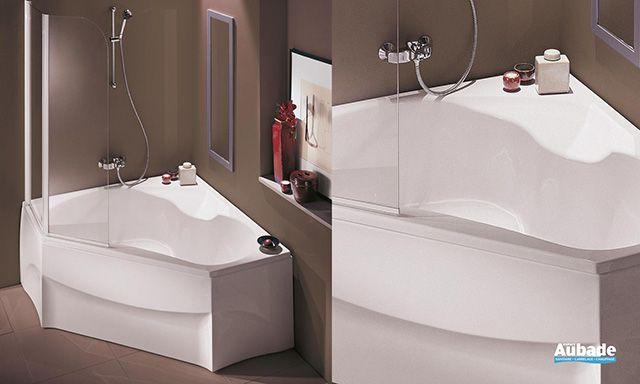 baignoire d angle douche baignoire