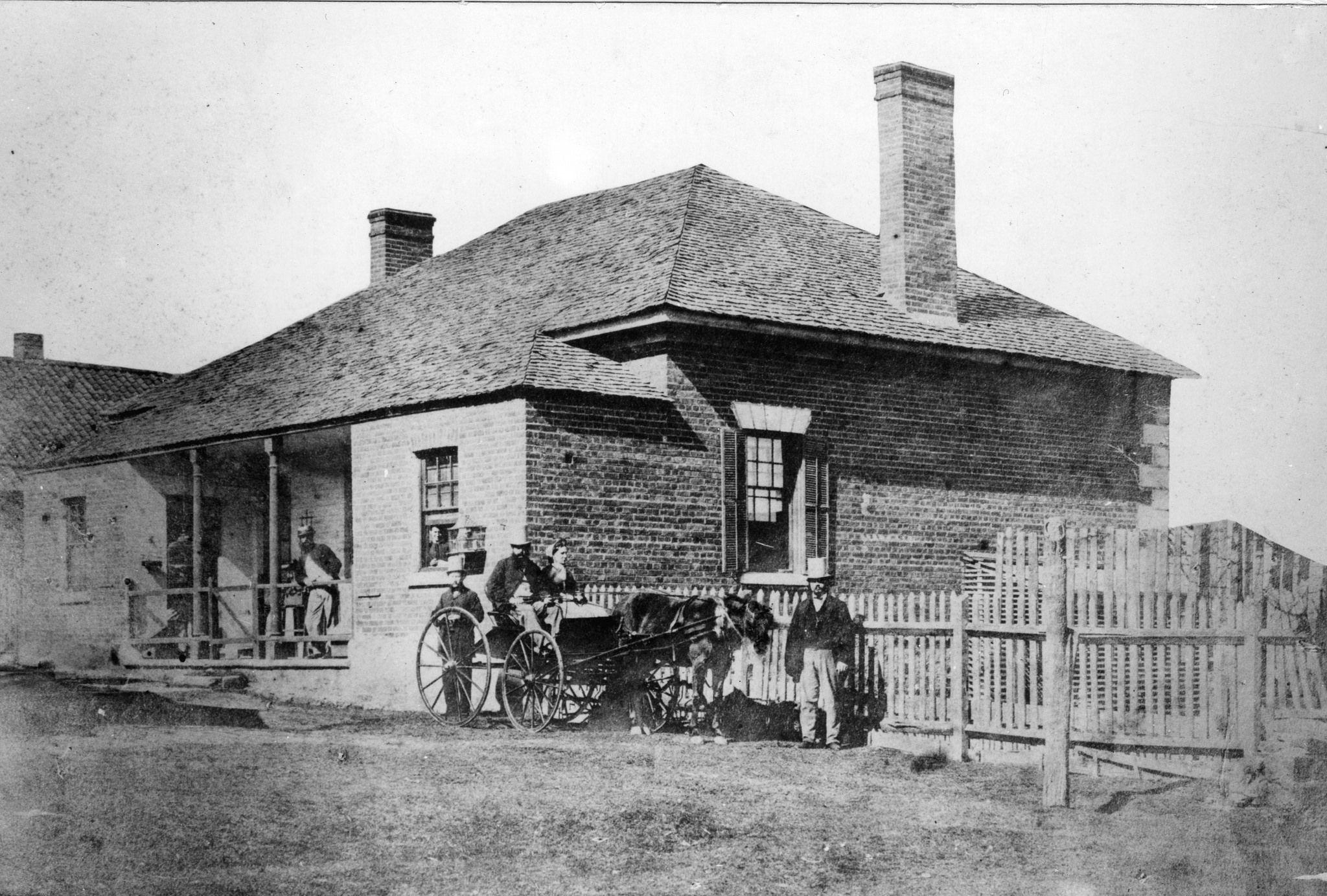 Brisbane Hospital, Street, Brisbane, 1865