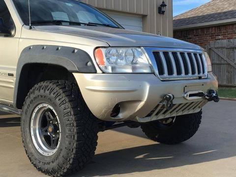 Wj Hidden Winch Mount W Shackle Tabs Jeep Wj Jeep Grand